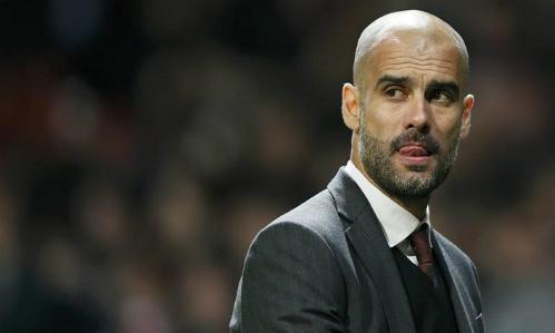 Pep Guardiola hứa hẹn thổi làn gió mới vào bóng đá Anh với triết lý độc đáo của mình. Ảnh: Reuters.