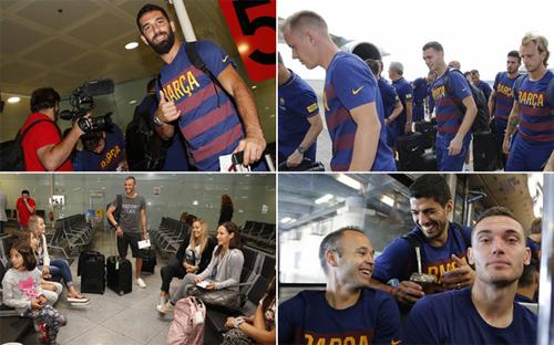 Di chuyển và thi đấu nhiều trong mùa hè đang trở thành một thách thức đối với Barca.