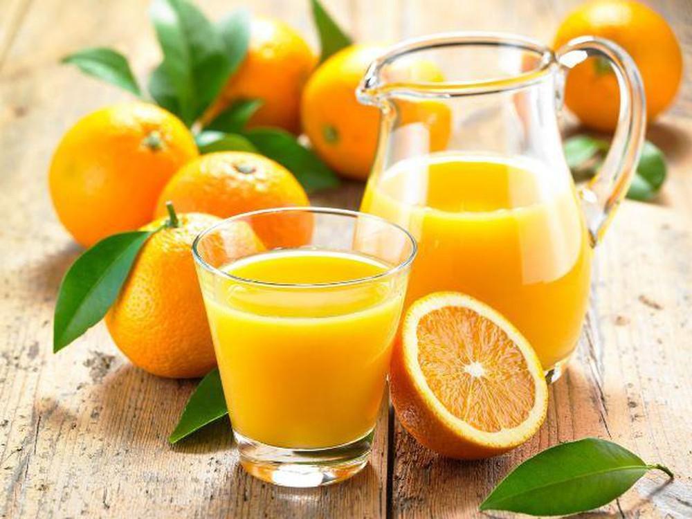 Thành phần dinh dưỡng có trong nước cam tốt cho sức khỏe bà bầu
