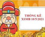 Thống kê chi tiết KQXSMB 10/5/2021 hôm nay