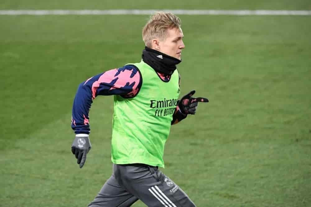 Madrid chấp nhận 40 triệu từ Arsenal cho Odegaard