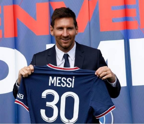 Messi tại PSG